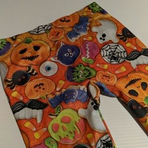 Pants - XS 1 HALLOWEEN LEGGINGS Pumpkin Ghosts
